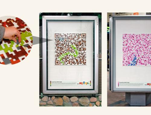 Una verdadera historia de amor publicitaria: creatividad y códigos qr